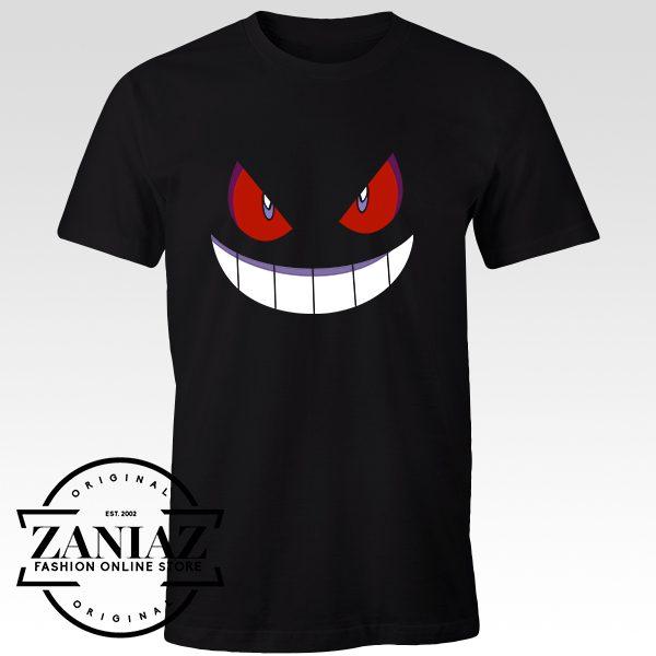 Buy Tshirt Pokemon Gengar Size S-3XL