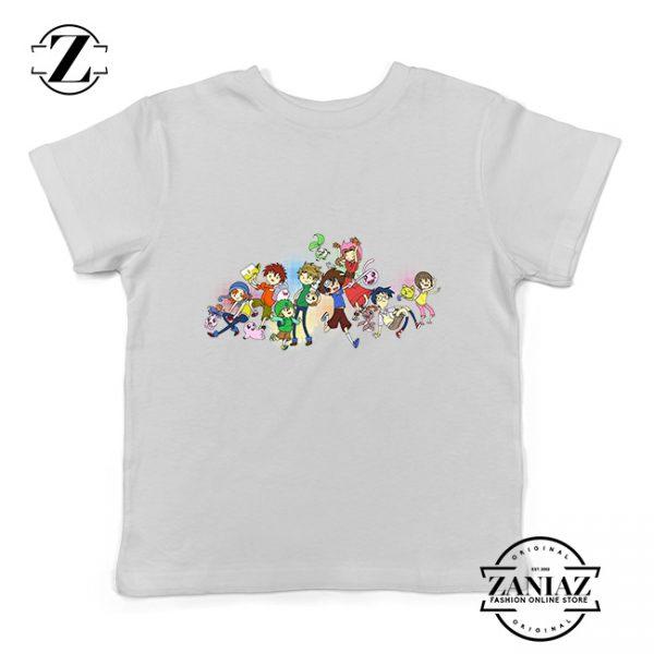 Custom Tshirt Kids Adventure Time Digimon