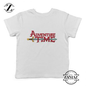 Custom Tshirt Kids Adventure Time Logo