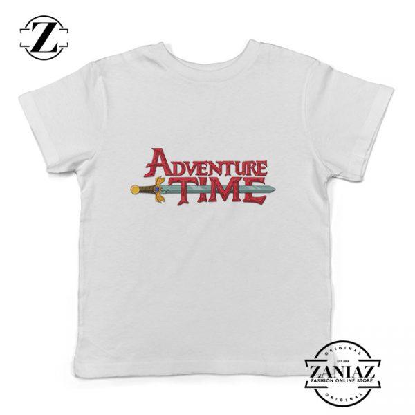 Custom Tshirt Kids Adventure Time Logo