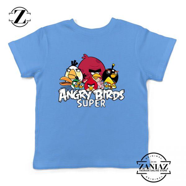 Custom Tshirt Kids Angry Birds Super