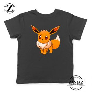 Custom Tshirt Kids Eevee Pokemon