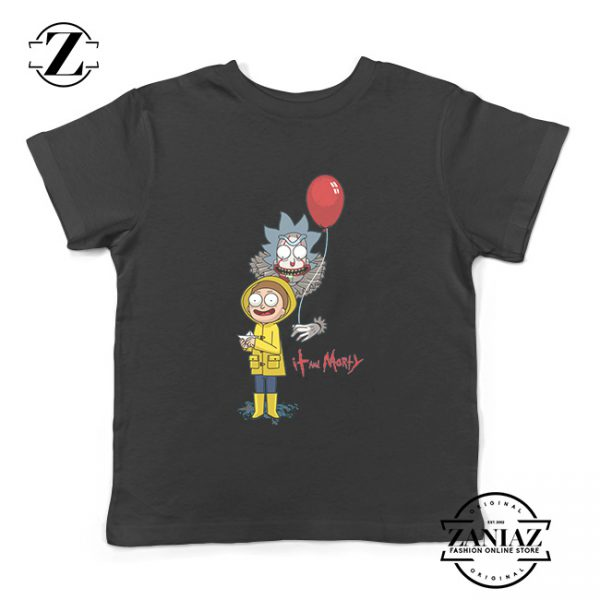 Custom Tshirt Kids IT Movie Rick Morty
