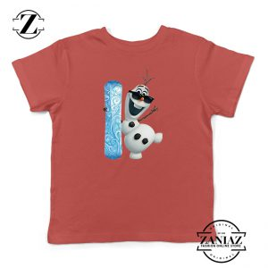 Custom Tshirt Kids OLAF Disney
