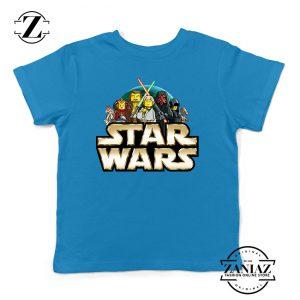 Custom Tshirt Kids Star wars Lego Movie