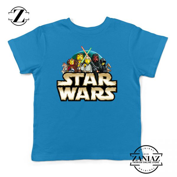 Custom Tshirt Kids Star wars Lego Movie