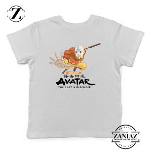 Tshirt Kids Avatar The Last Airbender Aang