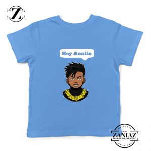 Tshirt Kids Erik Killmonger Hey Auntie Black Panther