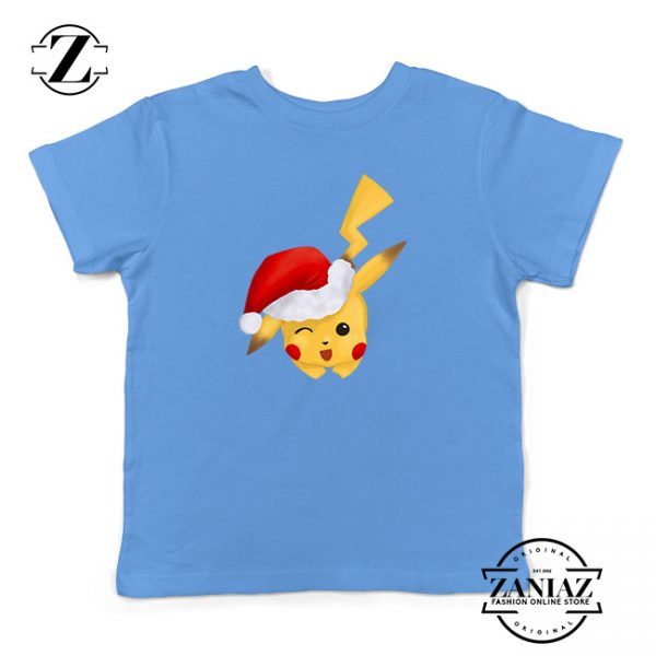 Tshirt Kids merry christmas pikachu