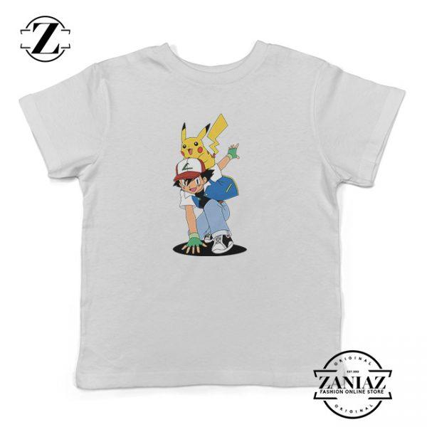 Buy Tshirt Kids ash And Pikachu