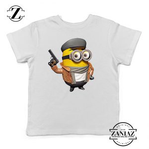 Buy T-shirt Kids Minion Police