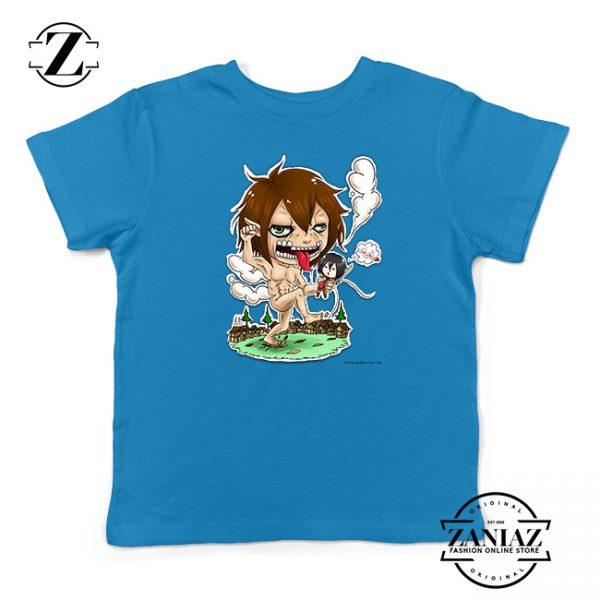 Buy Tshirt Kids Attack on Titan anime Naked