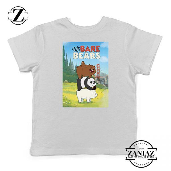 Buy Tshirt Kids Bare Bears Cartoon