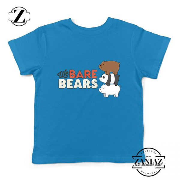 Buy Tshirt Kids Bare and Bears Cute