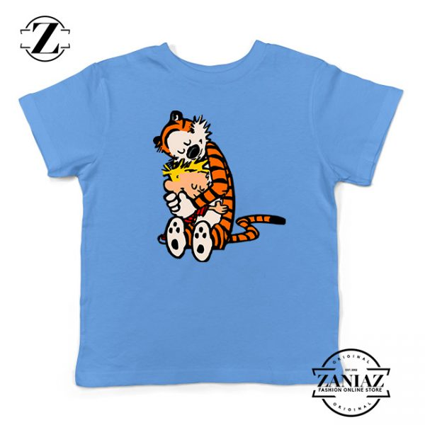 Buy Tshirt Kids Calvin and Hobbes hug
