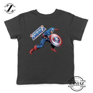 Buy Tshirt Kids Captain America Hero