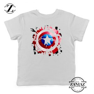 Buy Tshirt Kids Captain America Shield art