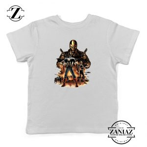 Buy Tshirt Kids Captain America Soldier