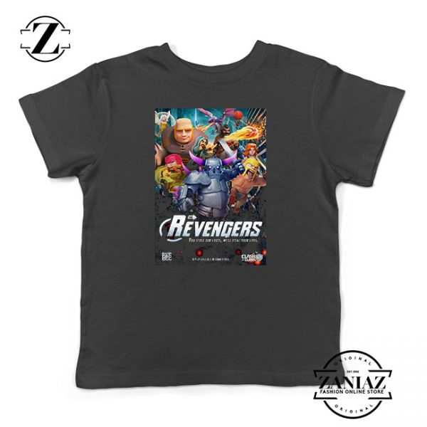 Buy Tshirt Kids Clash Of Clans Avengers