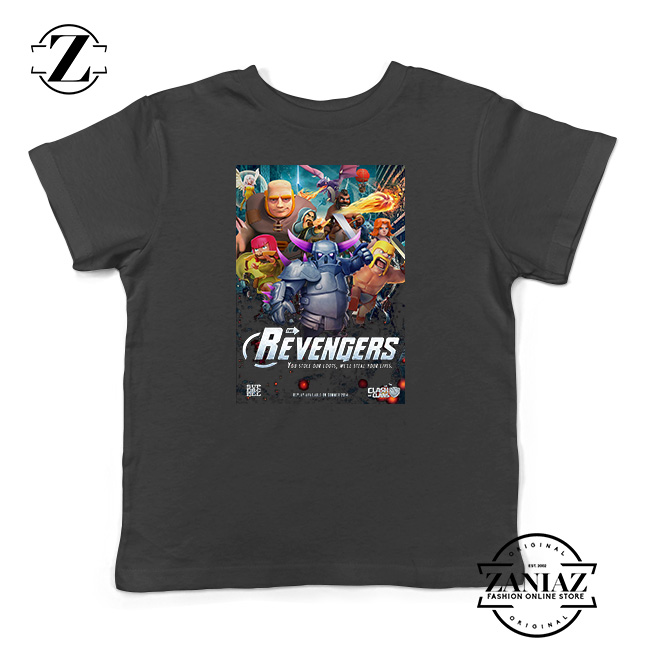 a6a355bb6944 Buy Tshirt Kids Clash Of Clans Avengers - FASHION GRAPHIC ONLINE STORE