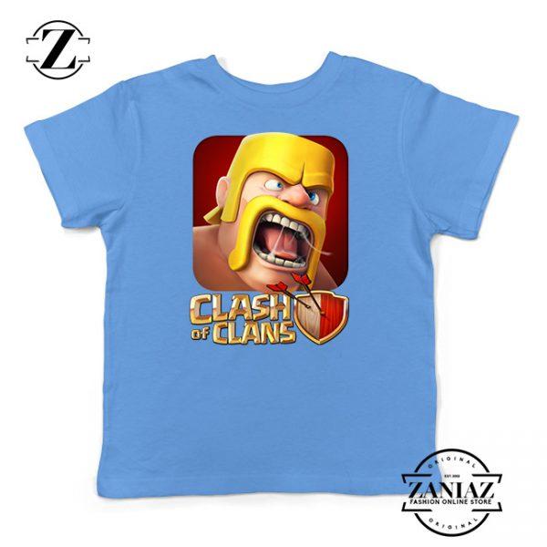 Buy Tshirt Kids Clash Of Clans Barbarian War