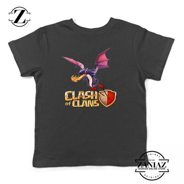 Buy Tshirt Kids Clash Of Clans Dragon