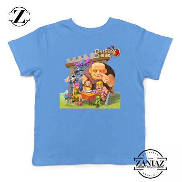 Buy Tshirt Kids Clash Of Clans Family