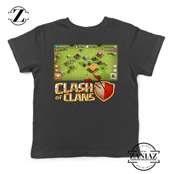 Buy Tshirt Kids Clash Of Clans Game Build