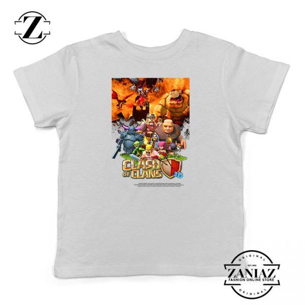 Buy Tshirt Kids Clash Of Clans Movie