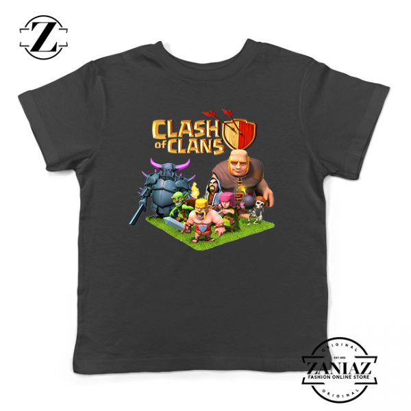 Buy Tshirt Kids Clash Of Clans Poster