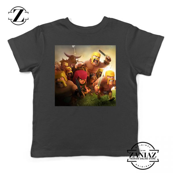 Buy Tshirt Kids Clash Of Clans Poster War