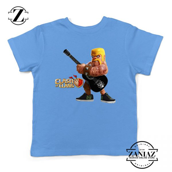 Buy Tshirt Kids Clash Of Clans Rock