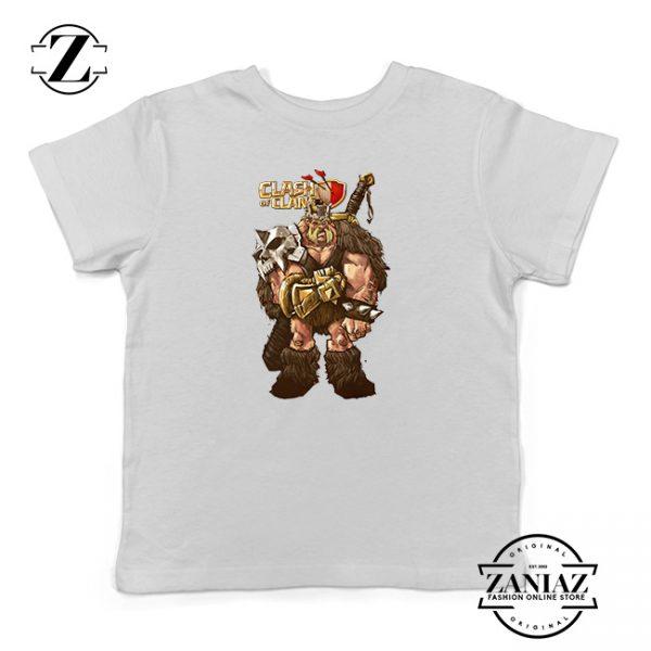 Buy Tshirt Kids Clash Of Clans The Kings Barbarian