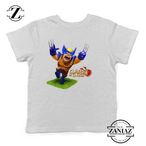 Buy Tshirt Kids Clash Of Clans X-Men
