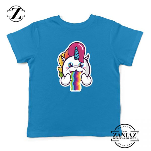 Buy Tshirt Kids Cute Sick Unicorn