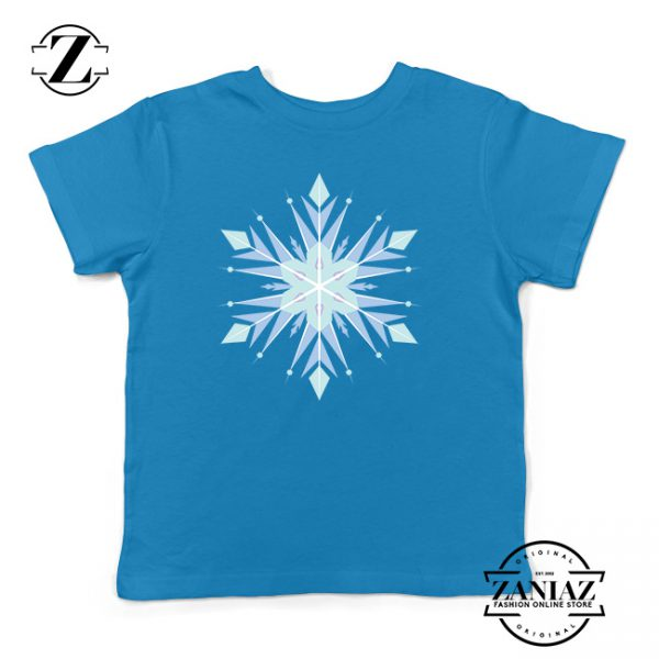 Buy Tshirt Kids Frozen Snow Flake