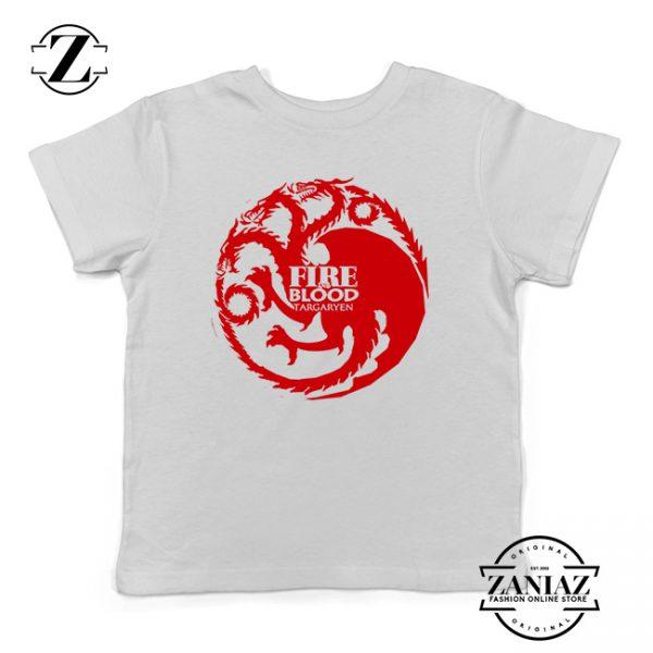 Buy Tshirt Kids Game of Thrones Targaryen Symbol