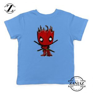 Buy Tshirt Kids Groot and Deadpool