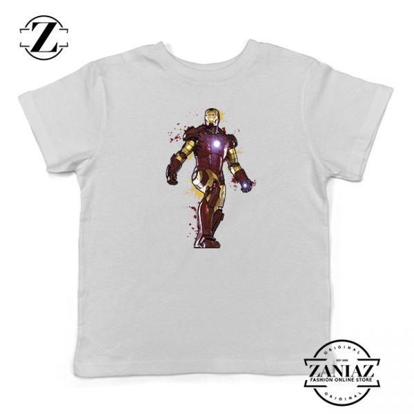 Buy Tshirt Kids Iron Man Face Paint