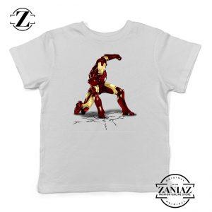 Buy Tshirt Kids Iron Man Hero