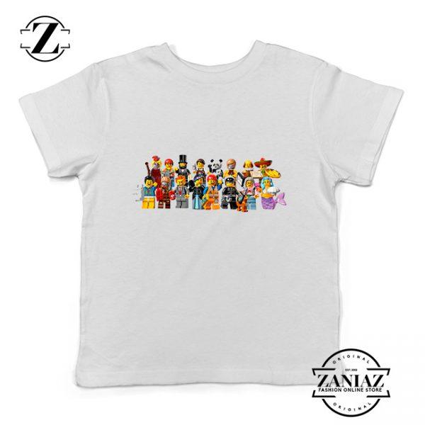 Buy Tshirt Kids Lego Movie Figures