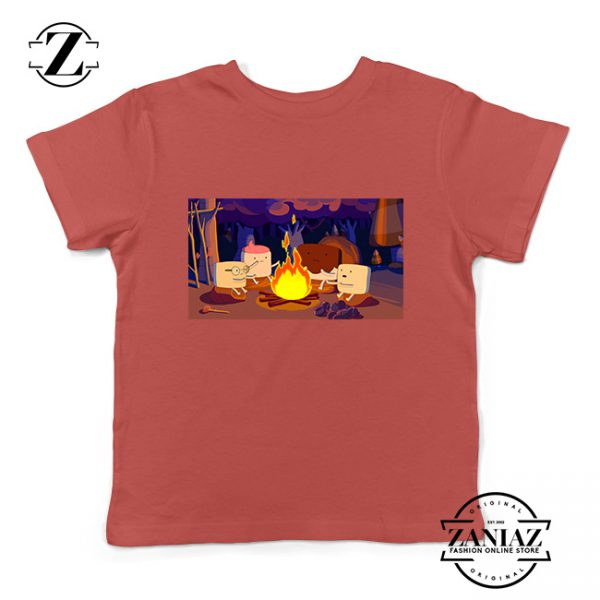Buy Tshirt Kids Marshmallow Campfire Time