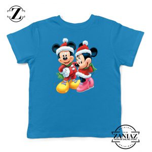 Buy Tshirt Kids Mickey And Minie Christmas