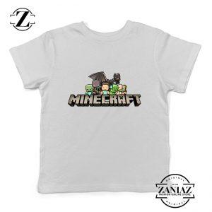 Buy Tshirt Kids Minecraft Animation