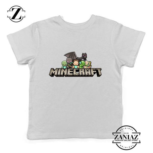 Buy Tshirt Kids Minecraft Animation