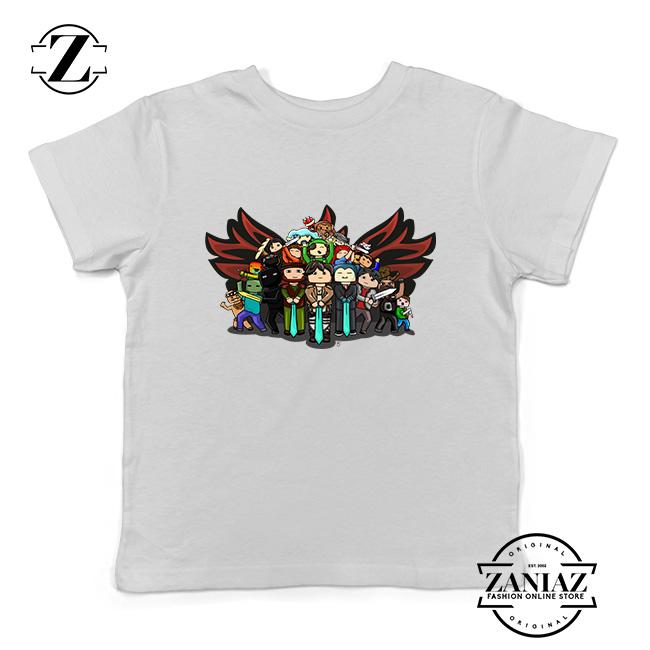 c302fe5d Buy Tshirt Kids Minecraft Attack On Titan