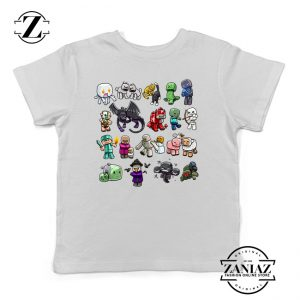 Buy Tshirt Kids Minecraft Characters