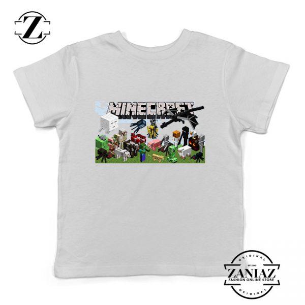 Buy Tshirt Kids Minecraft Game Poster