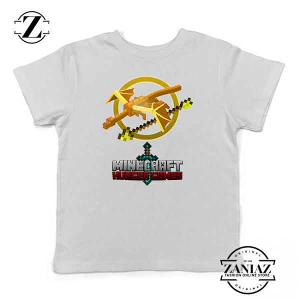 Buy Tshirt Kids Minecraft Hunger Games