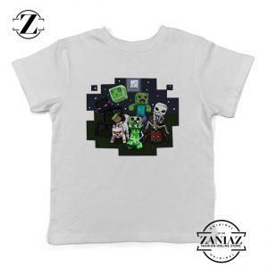 Buy Tshirt Kids Minecraft Monsters